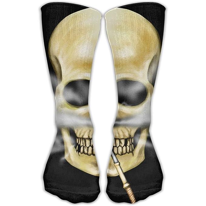 Amazon.com: Calavera Smokes pipa de Unisex calcetines de ...