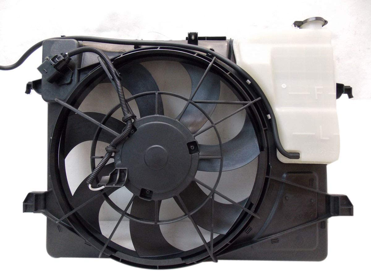 TYC 622280 Replacement Cooling Fan Assembly for Kia Forte