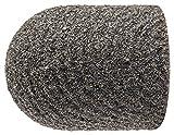 PFERD 46072 Policap Abrasive Cap, Shape C, Aluminum Oxide A, 1/2'' Diameter x 11/16'' Length, 150 Grit (Pack of 50)