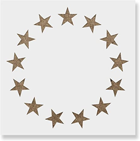 It is a photo of Star Stencils Printable pertaining to star outline