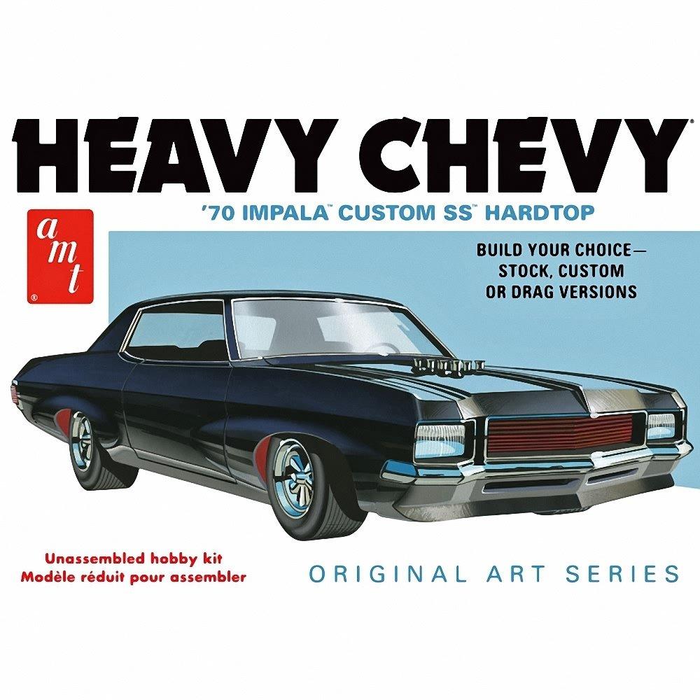 AMT 895/12 AMT 1/25 1970 Chevy Impala Heavy Chevy Orig Art Series