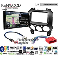 Volunteer Audio Kenwood Excelon DNX994S Double Din Radio Install Kit with GPS Navigation Apple CarPlay Android Auto Fits 2011-2014 Mazda 2