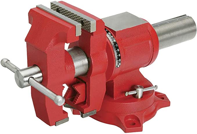 best bench vise: Perform a multitude of tasks with Grizzly G7062