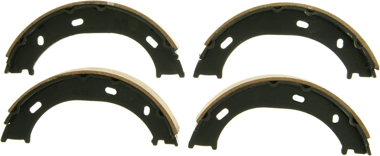 Rear Wagner QuickStop Z758 Parking Brake Shoe Set