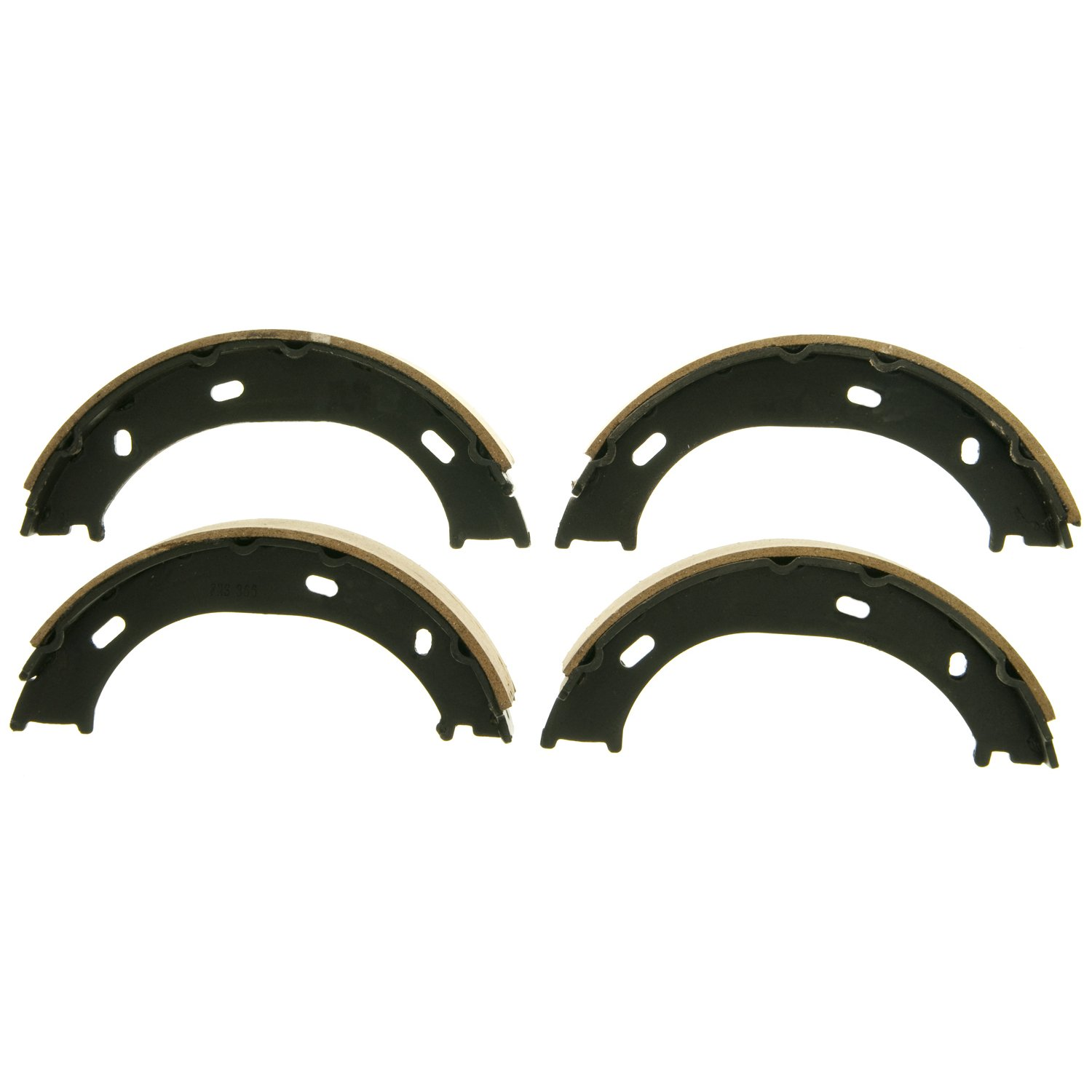 Wagner Z866 Parking Brake Shoe Set, Rear