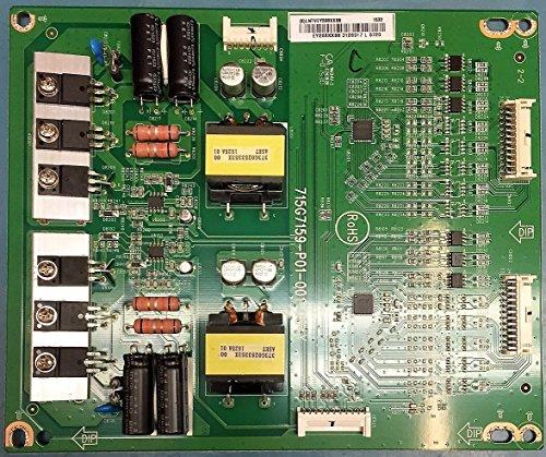 Vizio D50U-D1 LED Driver Part# 715G7159-P01-001-004Y/ LNTVEY208XXB8