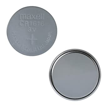 5 pc MAXELL CR1616 1616 de litio de 3 V - baterías de la célula de la moneda de hecho en Japón: Amazon.es: Relojes