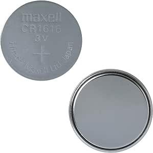 Maxell CR1616 3V Lithium Battery 5 Pack