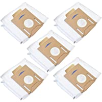 5 Pack Dust Bags for ECOVACS T8 /T8 AIVI DX93 DDX96 Vacuum Cleaner Parts