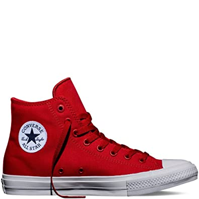 e7b67569d792e Converse Chuck Taylor All Star II Hi Sneakers Salsa Red/White/Navy 9 ...