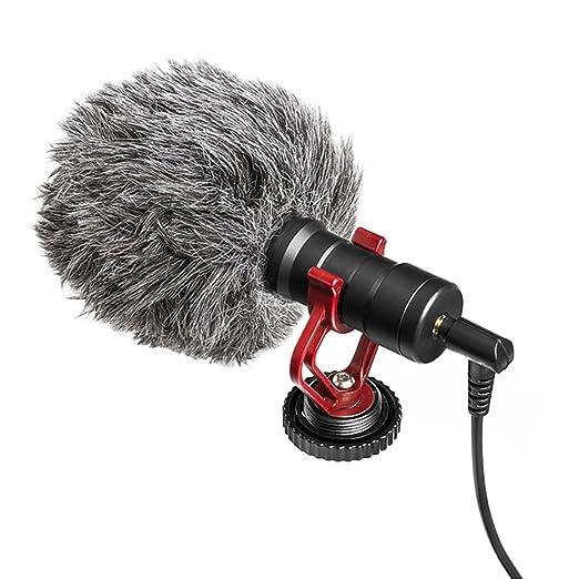 ieenay - Micrófono para cámara réflex Digital (para Android y ...