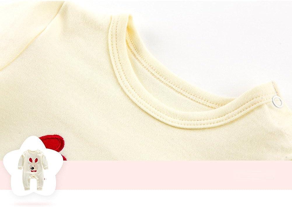 WEIMEITE Natale Baby Pagliaccetti Babbo Natale Bears Tuta Infant Tuta Vestiti del Bambino Neonato Boy Girl Festival Abbigliamento per I Regali