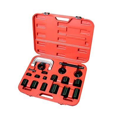 A ABIGAIL Master Ball Joint Press & U-Joint Puller Service Tool Set 21PCS Upper and Lower Ball Joint Removal Tool Set: Automotive