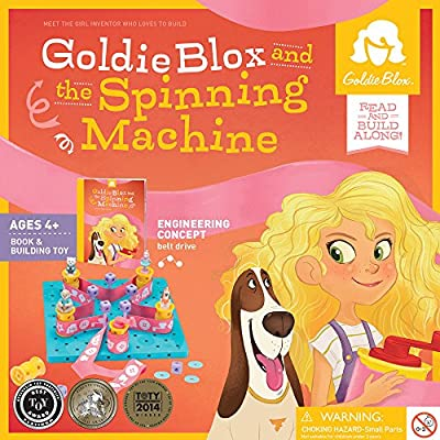 GoldieBlox and The Spinning Machine: Toy: Toys & Games