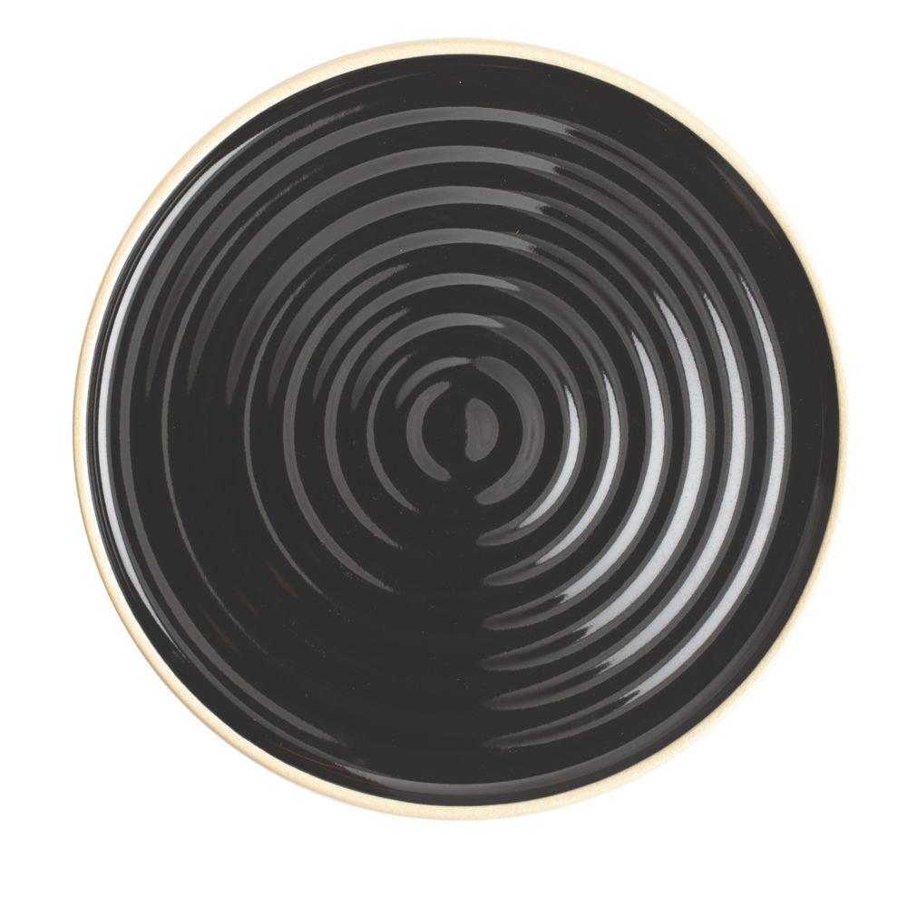 Chef & Sommelier FK888 Geode Black 4'' Plate - 24 / CS