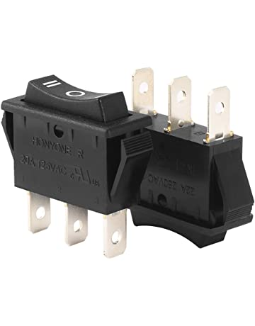 Amazon Com Rocker Switches Electrical Equipment Sports Outdoors