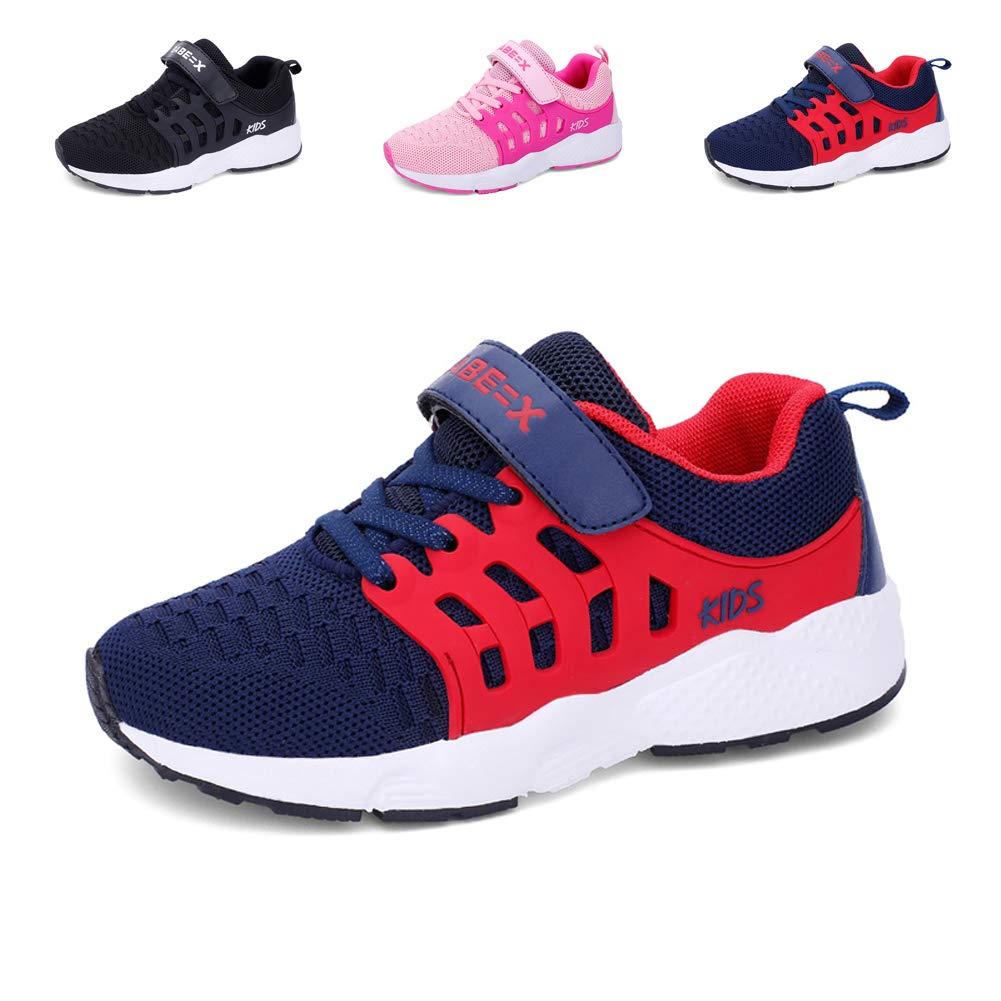 Baskets Enfants Unisexe Garçons Chaussures Respirant Route en Cours Filles Légère Sneakers