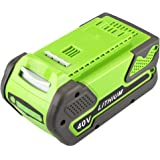 Energup 40V 4.0AH Replacement Lithium Battery for GreenWorks 29282,Compatible to GreenWorks Gen1 Tools(Can NOT Compatible With 40V G-MAX and 40V Lithium-Ion Batteries,ONLY for Gen 1 )