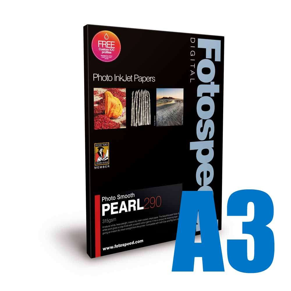 Fotospeed Smooth Pearl 290 Photo Paper 6x4-100 Sheets