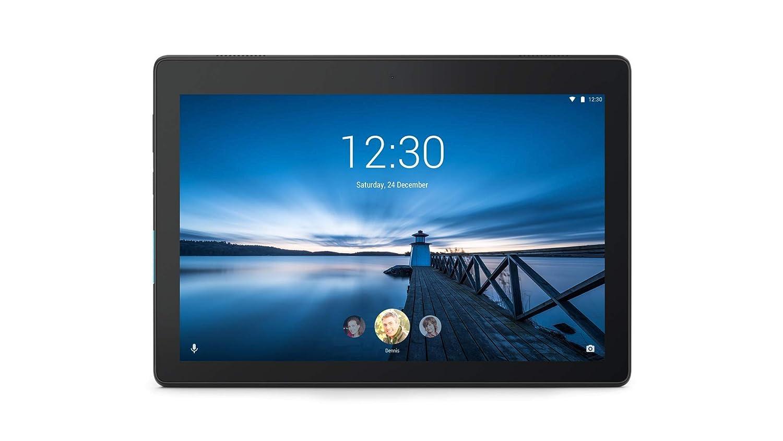 Lenovo Tab E10 25 Tablette PC 10,1 Pouces HD IPS Touch (Qualcomm APQ8009 Quad-Core, 2 Go de RAM, 32 Go eMCP, Wi-FI, Android 8.1) Noir