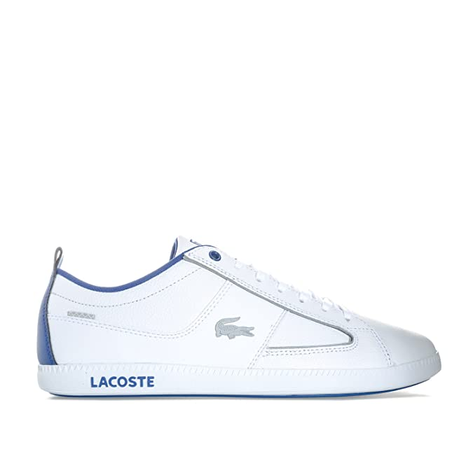 0361b5760322d Lacoste Mens Mens Observe Trainers in White - UK 12  Amazon.co.uk  Shoes    Bags