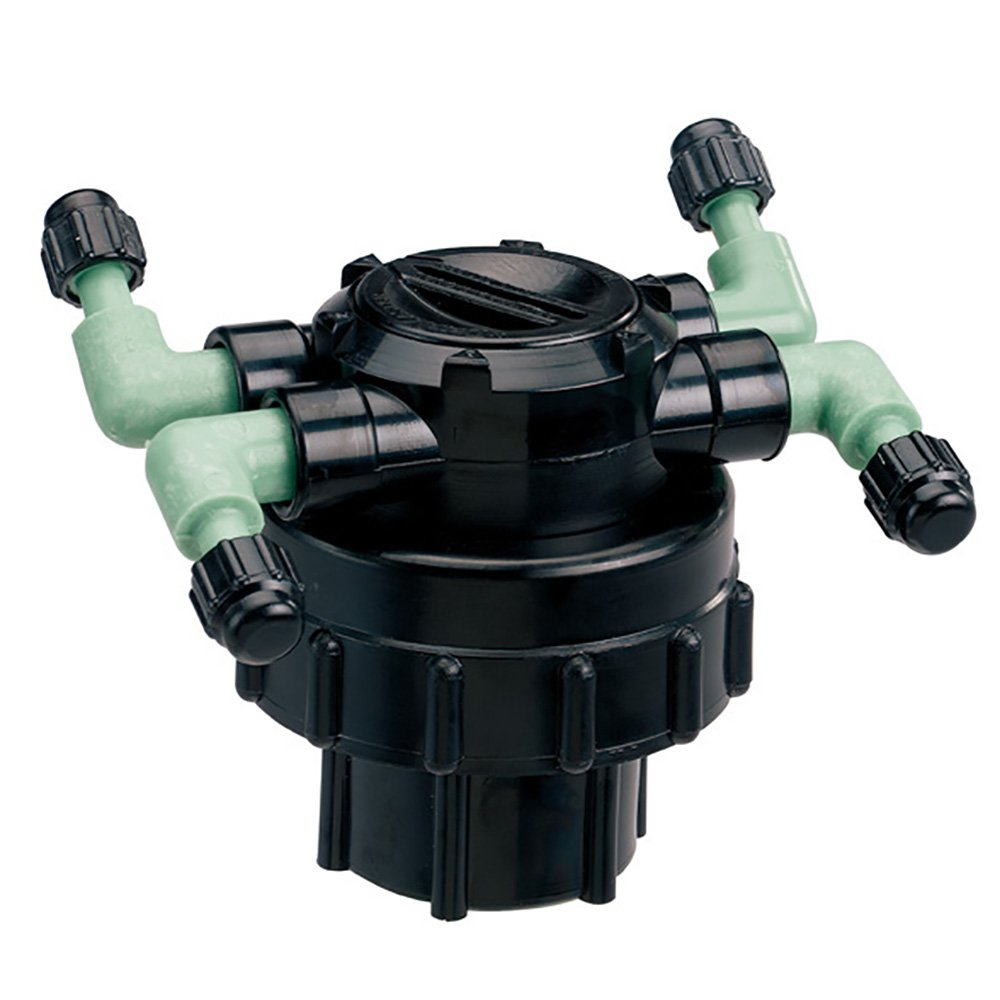 Adjustable Flow 69005D Orbit DripMaster 69005 4-Port Manifold