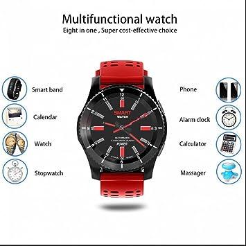 Smart Watch Reloj Inteligente Teléfono con Alarma y Cronómetro,Contador de Calorías,Análisis de