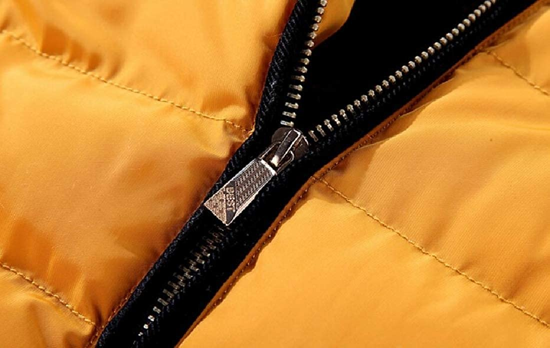 Beloved Mens Winter Quilted Puffer Down Jacket Warm Cotton Padded Coat
