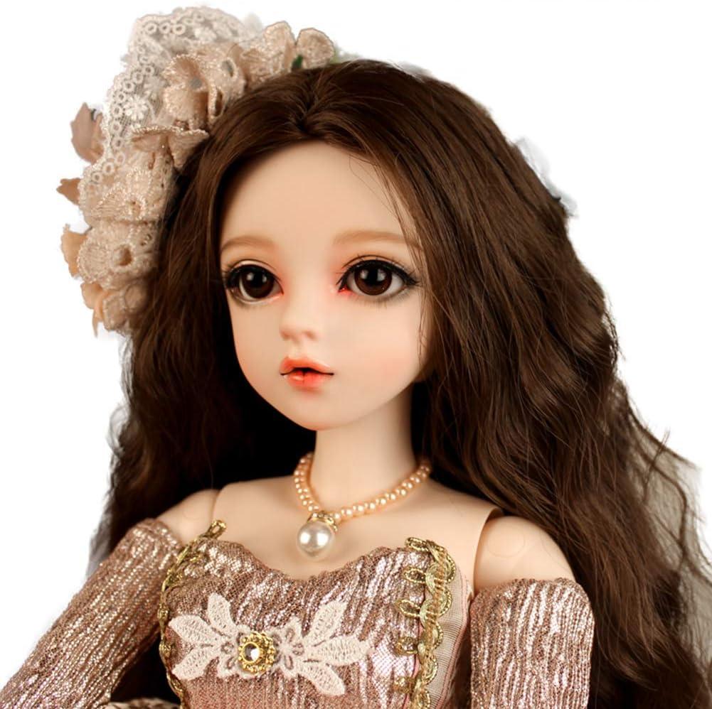 "Dolls/' Clothes Dress Wigs Shoes Socks Trousers Coat 23/"" 1//3 60cm BJD SD Doll"