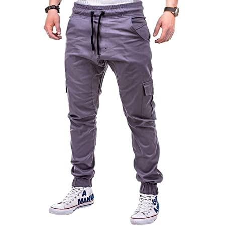 Pantalones de chándal para hombre, ajustados, casuales, pantalones ...