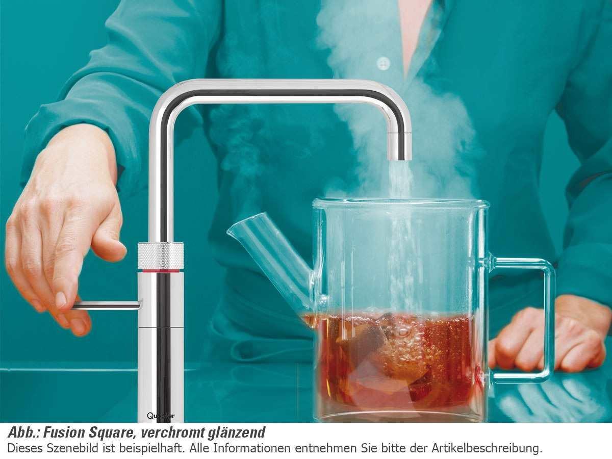 De depósito Quooker PRO3-VAQ B + calentador de agua de grifo de fusión de Square stped de un sistema de: Amazon.es: Hogar