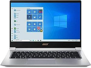 "Acer Swift 3 14""FHD IPS LED Premium Laptop   Intel Core i5-8265U   8GB DDR4   512GB SSD   Backlit Keyboard   Fingerprint Reader   Windows 10 Pro   Silver   with Portable Laptop Stand Bundle"