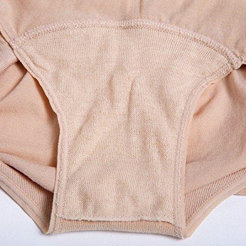 Embarazada Mujer Alta Cintura Abdomen La Salud Cómodo Algodón Triángulo Bragas Pink