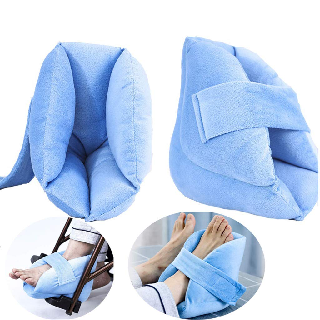 Comfortable Decompression Anti-Decubitus Ankle Joint Protector,Anti-Foot drooping, Heel Protection padHeel, for The Elderly, Fracture Bed,Patient Care,2Pcs