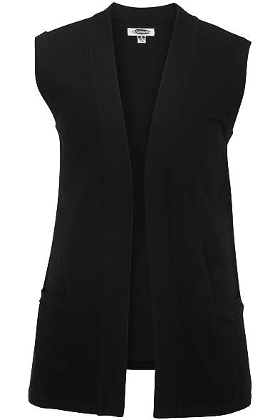 Edwards Women's Open Cardigan Sweater Vest at Amazon Women's ...