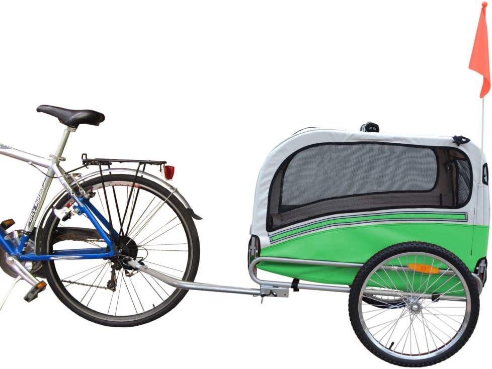 PAPILIOSHOP ARGO Remolque y carrito cochecito para el transporte de perro perros mascota por bici bicicleta carro bicicletas silla de paseo: Amazon.es: Productos para mascotas