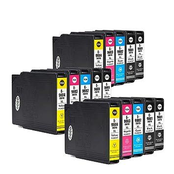 Teng® T9081 T9082 T9083 T9084 - Cartucho de tinta para ...