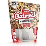 Prozis Oatmeal con Whey Protein 1000g - Cereales Repletos de Hidratos de Carbono de Alta Calidad y Fibras Saciantes - Sabor Pepitas de Chocolate - Apto para Vegetarianos - Cardiosaludable - 12 Dosis