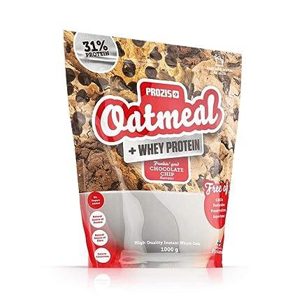 Prozis Oatmeal con Whey Protein 1000g - Cereales Repletos de Hidratos de Carbono de Alta Calidad