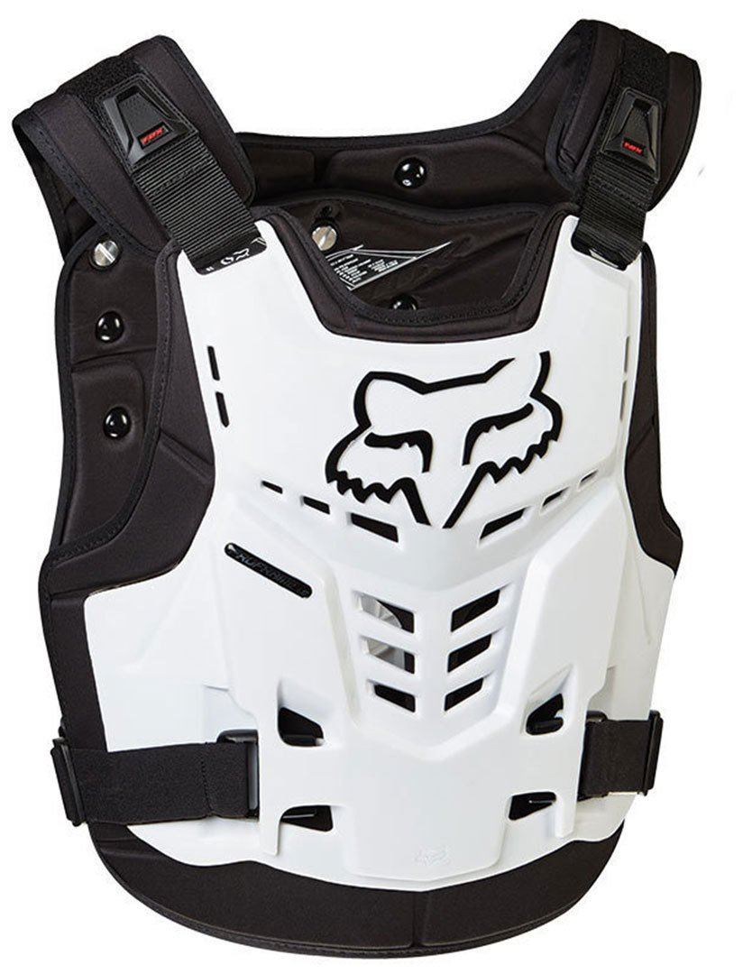 Fox Peto proframe LC Color Blanco Talla S/M Fox Racing 13558-008