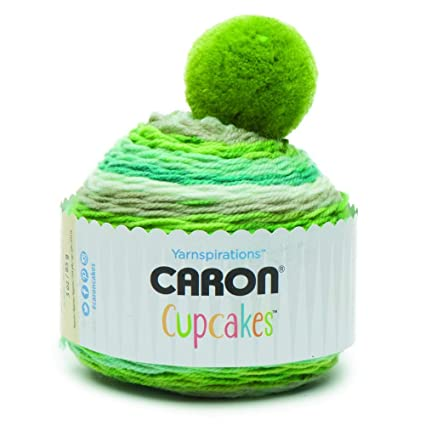 Image Unavailable. Image not available for. Color  Caron Cupcakes Crochet  Beanie ... 1b96f6e9be6