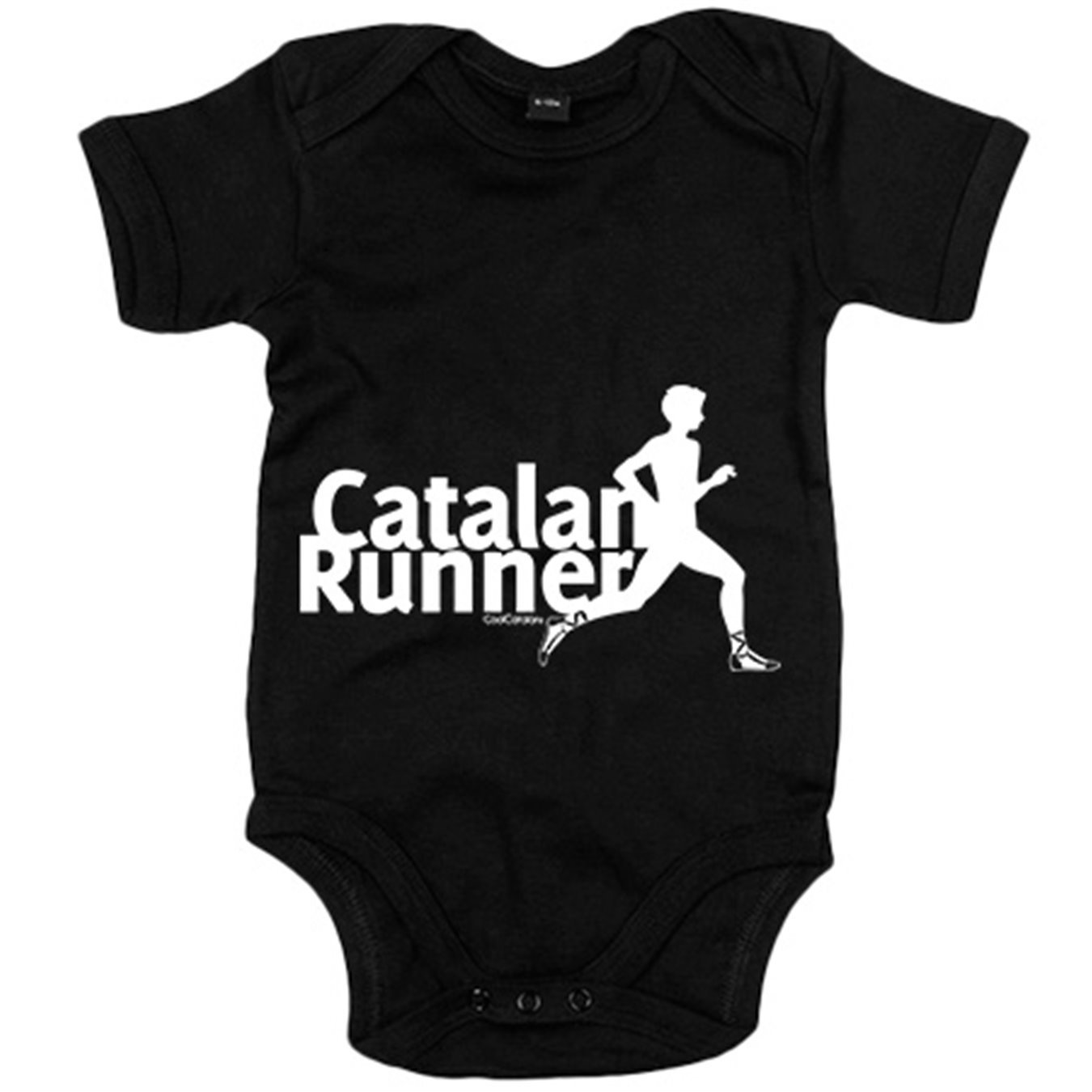 Body bebé Catalan Runner Cool Catalans - Amarillo, 6-12 ...