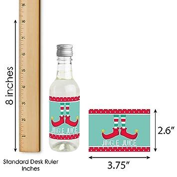Amazon.com: Elf Squad – Mini pegatinas para botellas de vino ...