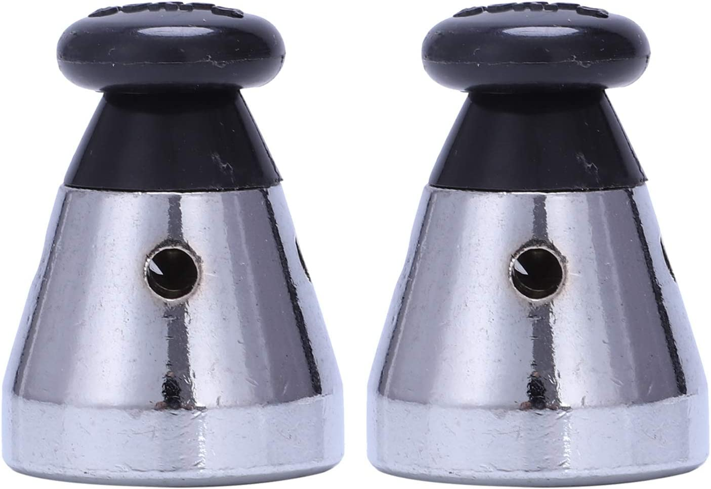 Andifany Pressure Cooker Relief Jigger Valve 1.5 Inch High 2Pcs Black