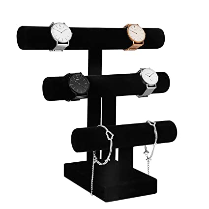 24x Plastic Jewelry Bracelets Wrist Watch Displays Rack Holder Show Case Stand Boxes, Cases & Watch Winders Jewelry & Watches