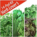 Herb Lovers Seed Pod Kit by Aerogarden (14 pods)