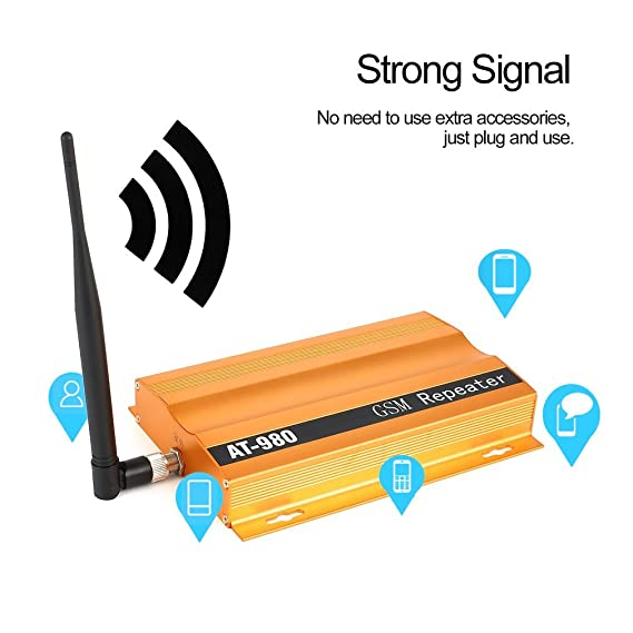 582d6f14f48c41 Image Unavailable. Image not available for. Color: GSM 900mHz Mobile Phone  Signal Booster Repeater ...