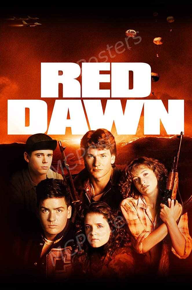 MCPosters - Red Dawn Glossy Finish Movie Poster - MCP906 (24