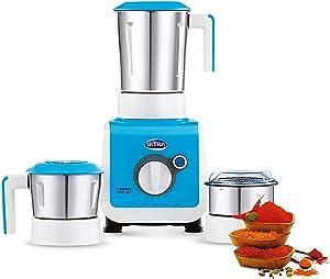 ULTRA Stealth 750-Watt 3 Jar Mixer Grinder, 110 Volts, Medium, Pastel Blue Color