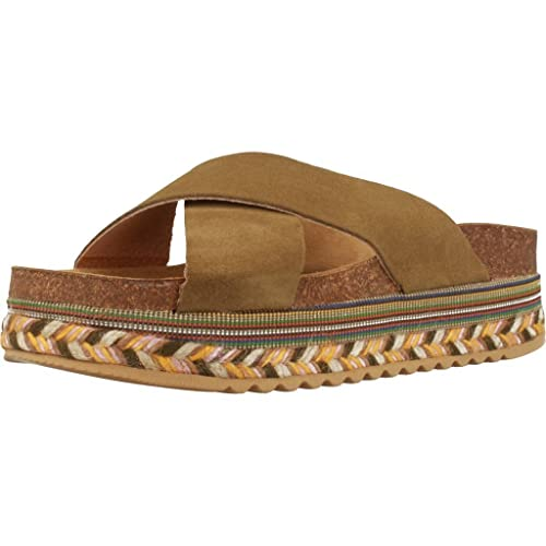 Alpargatas para Mujer, Color Verde, Marca YELLOW, Modelo Alpargatas para Mujer YELLOW Clyde Verde: Amazon.es: Zapatos y complementos